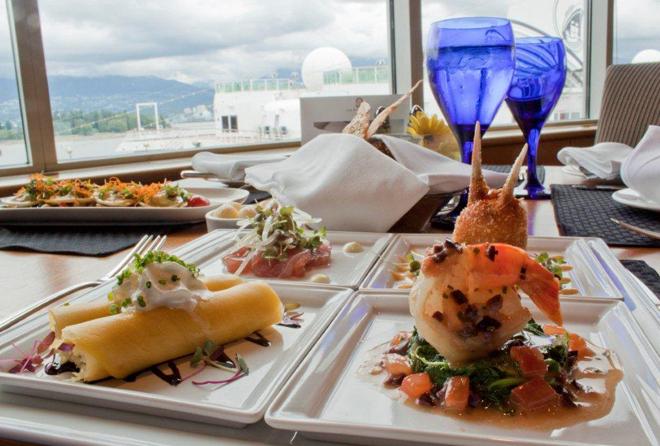 Seafood Sampler- Pan Pacific Vancouver