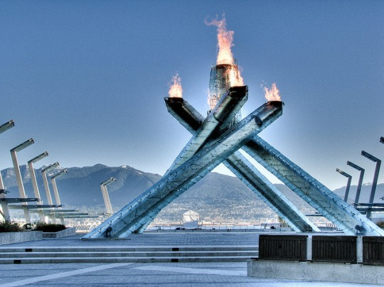 Olympic Cauldron Vancouver