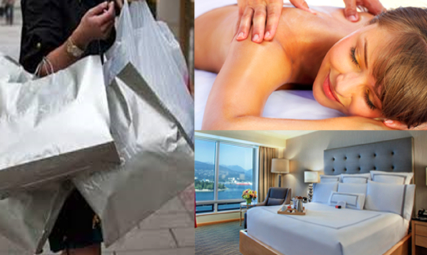 shop and spa package