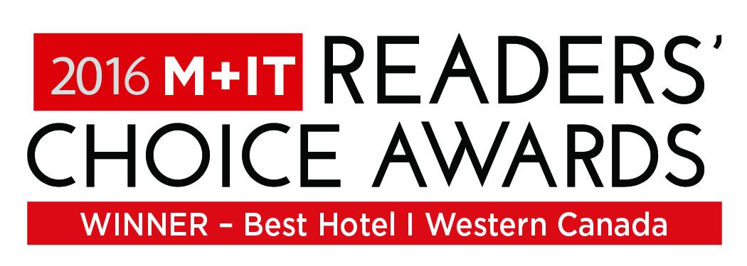 MIT RCA Winner Best Hotel Western Canada