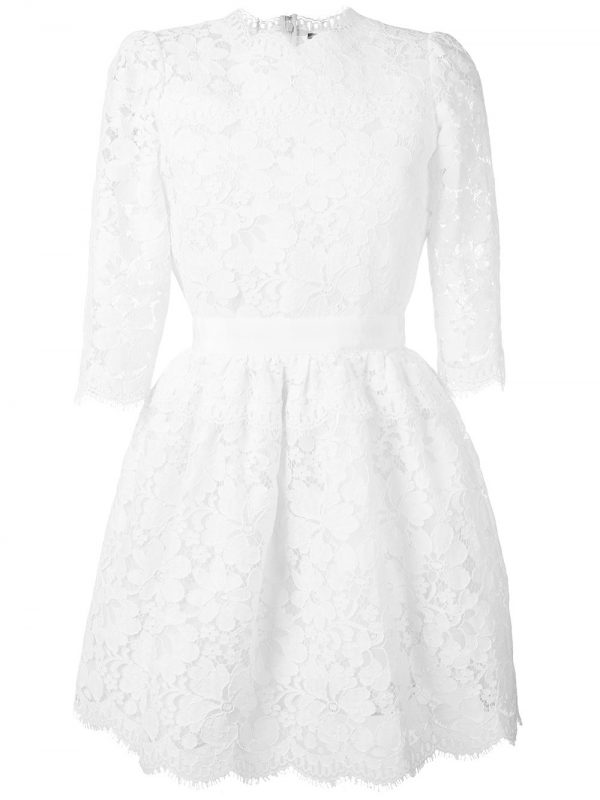 ALEXANDER MCQUEEN lace mini dress