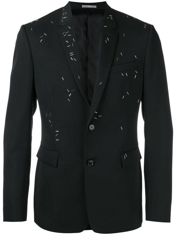 DIOR HOMME embellished blazer