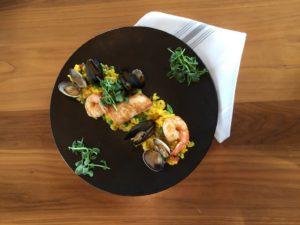 B.C. Seafood Paella