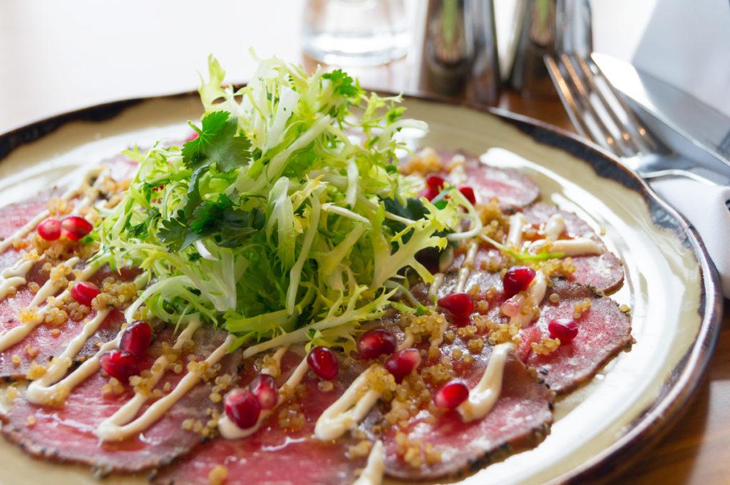 Alberta, Prime beef carpaccio, dine out vancouver