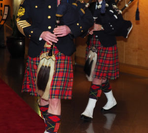 bagpipes, robbie burns gala, pan pacific vancouver
