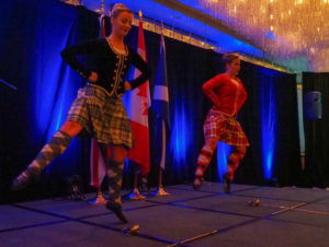highland dancers, shot of scotch, pan pacific vancouver, robbie burns